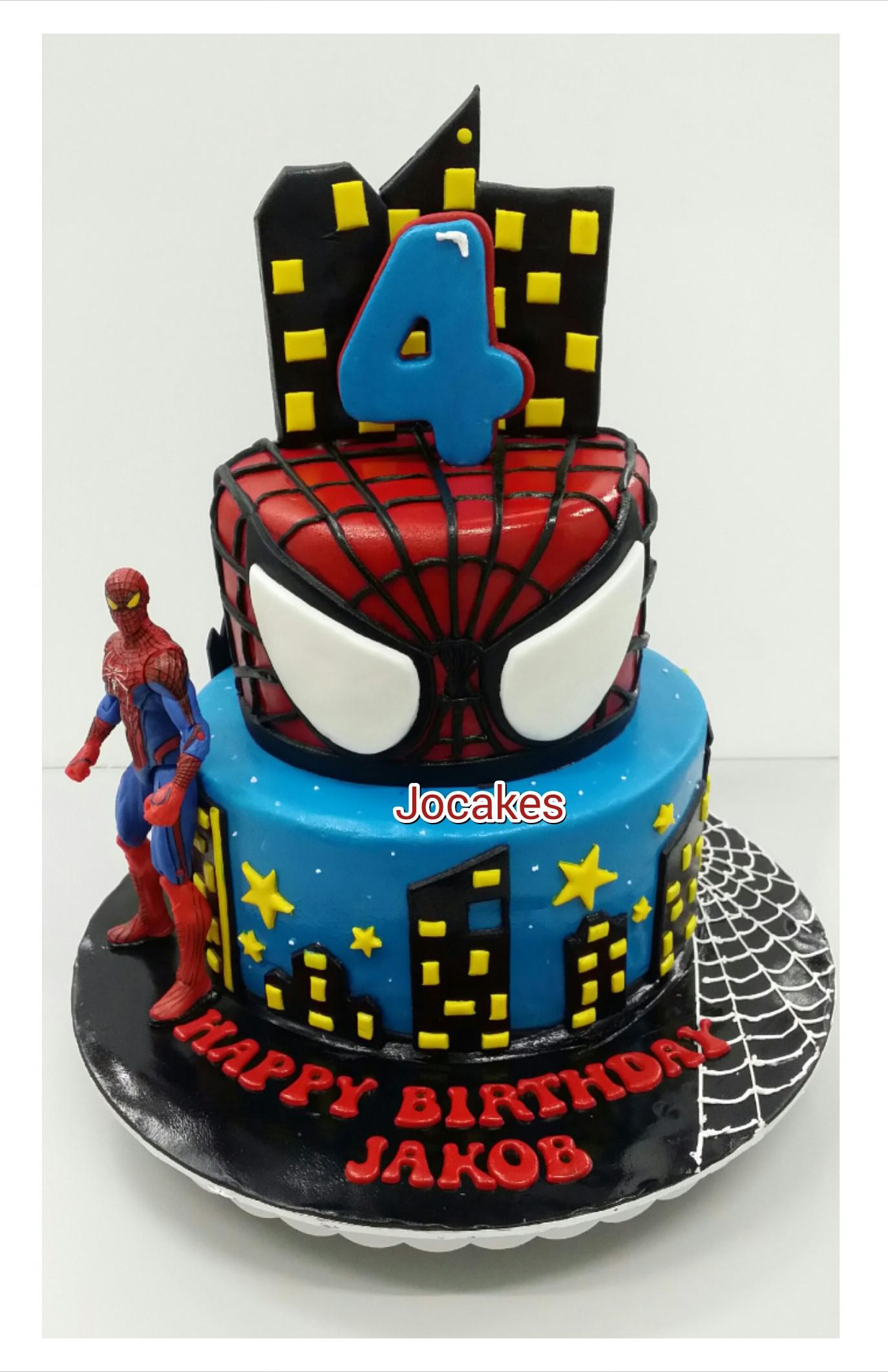 Spiderman Birthday Cakes  Spiderman cake