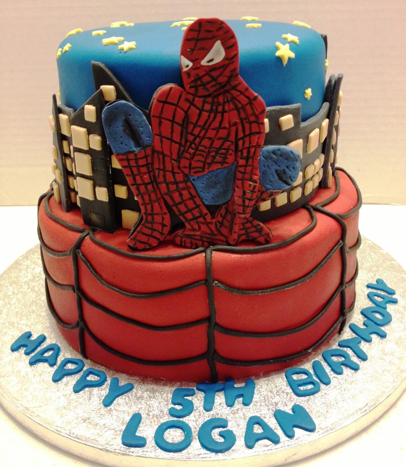Spiderman Birthday Cakes  MaryMel Cakes Spiderman birthday