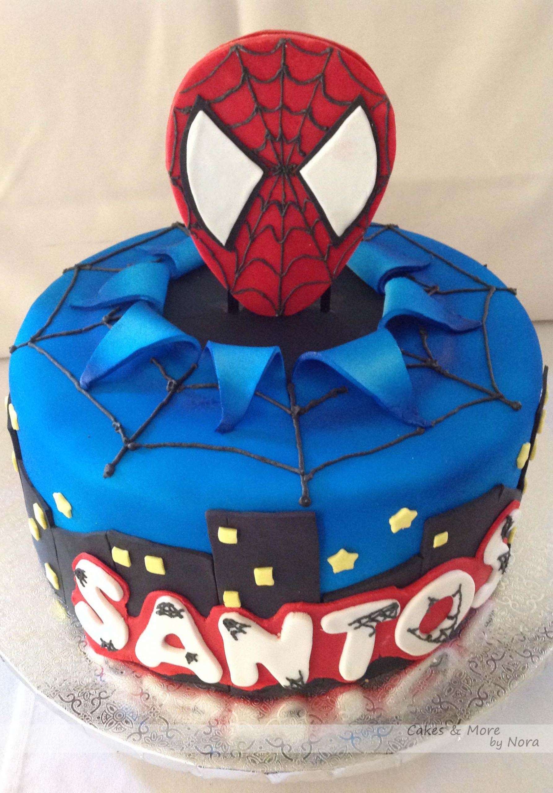 Spiderman Birthday Cakes  cakes