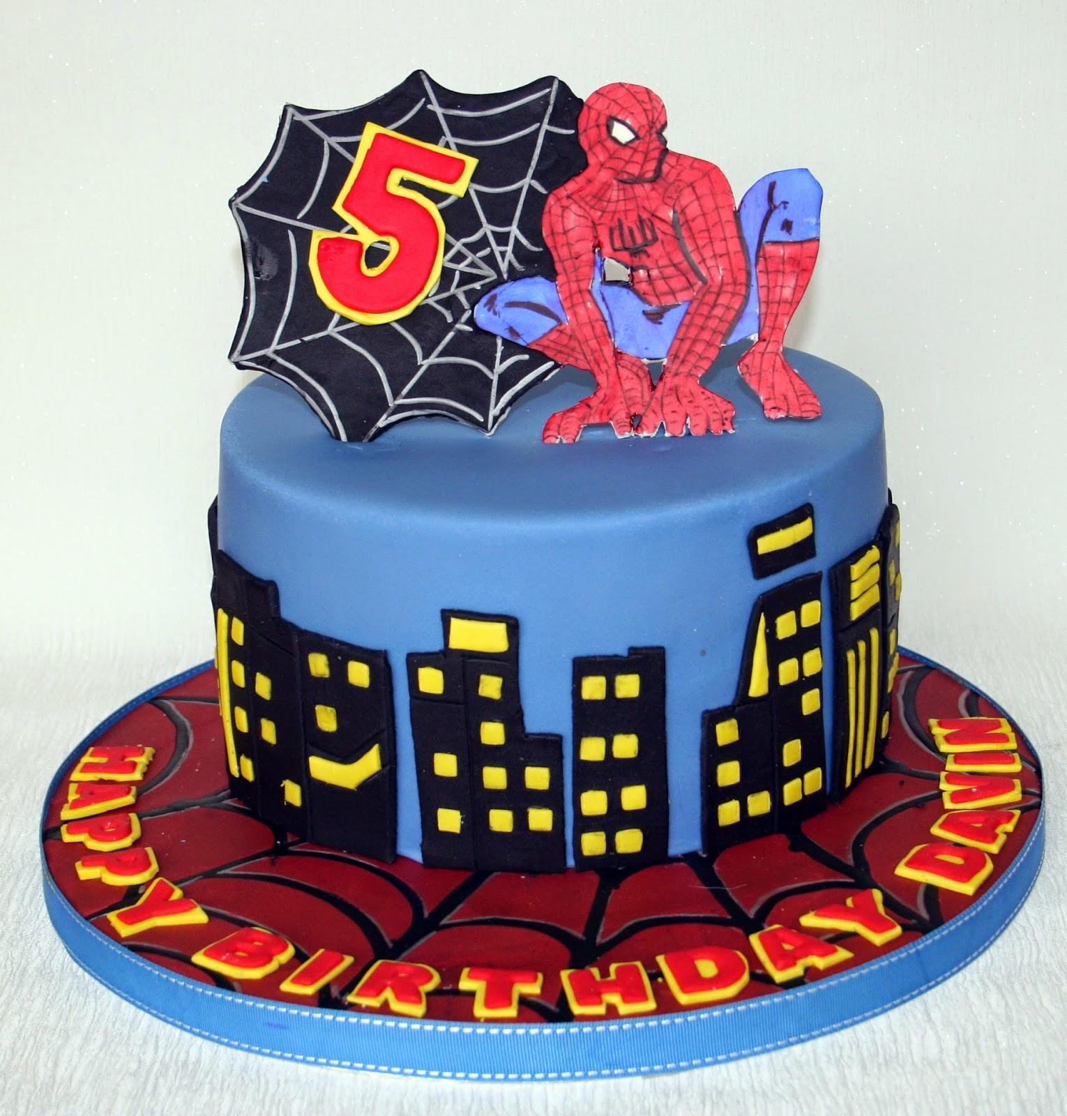Spiderman Birthday Cakes  The Perfectionist Confectionist Davin Spiderman