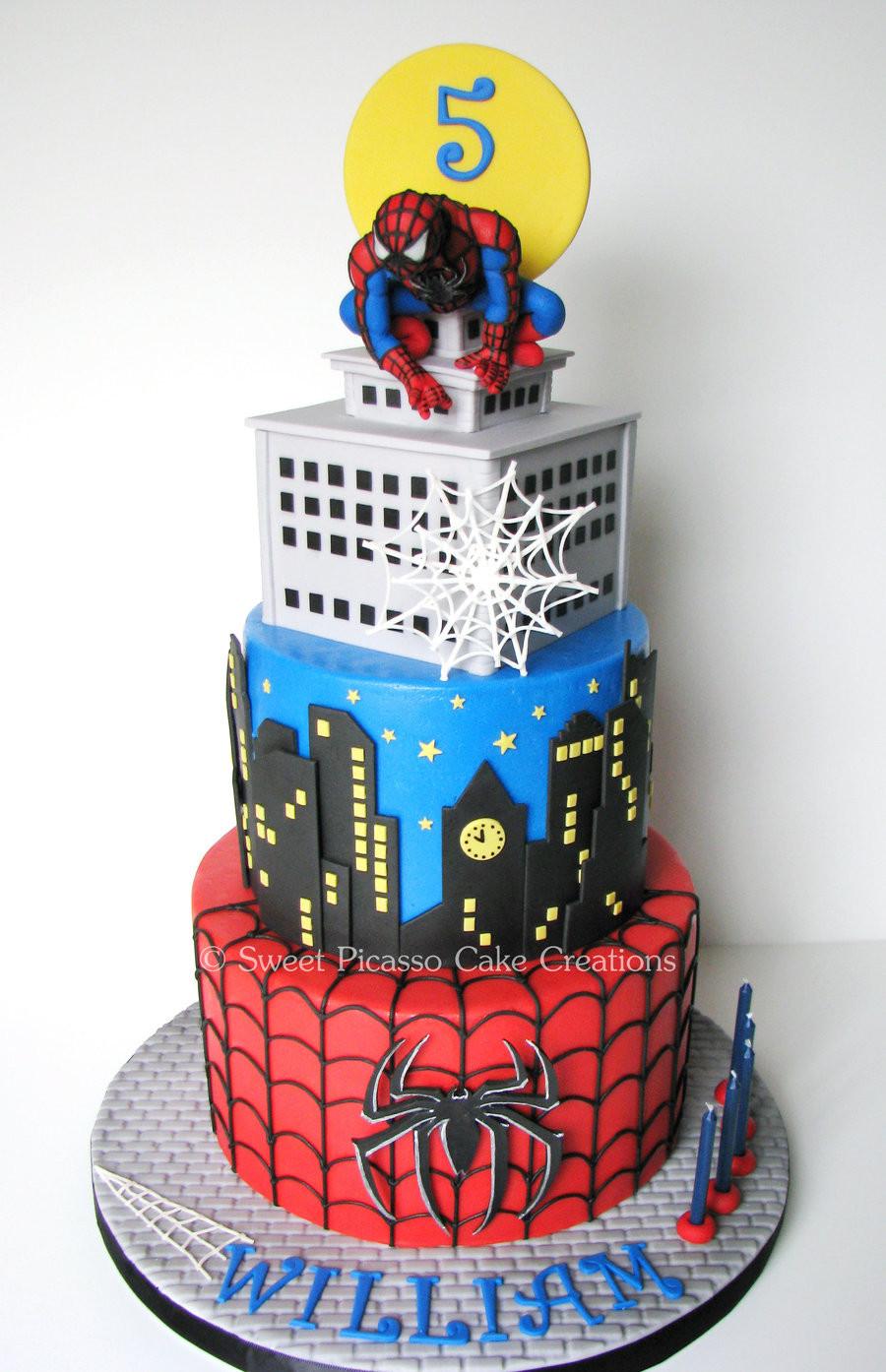 Spiderman Birthday Cakes  Spiderman Cake CakeCentral