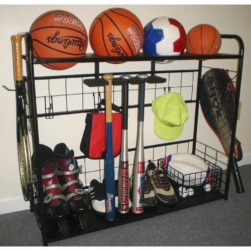Sports Equipment Organizer For Garage  Sports Equipment Organizer in Sports Equipment Organizers