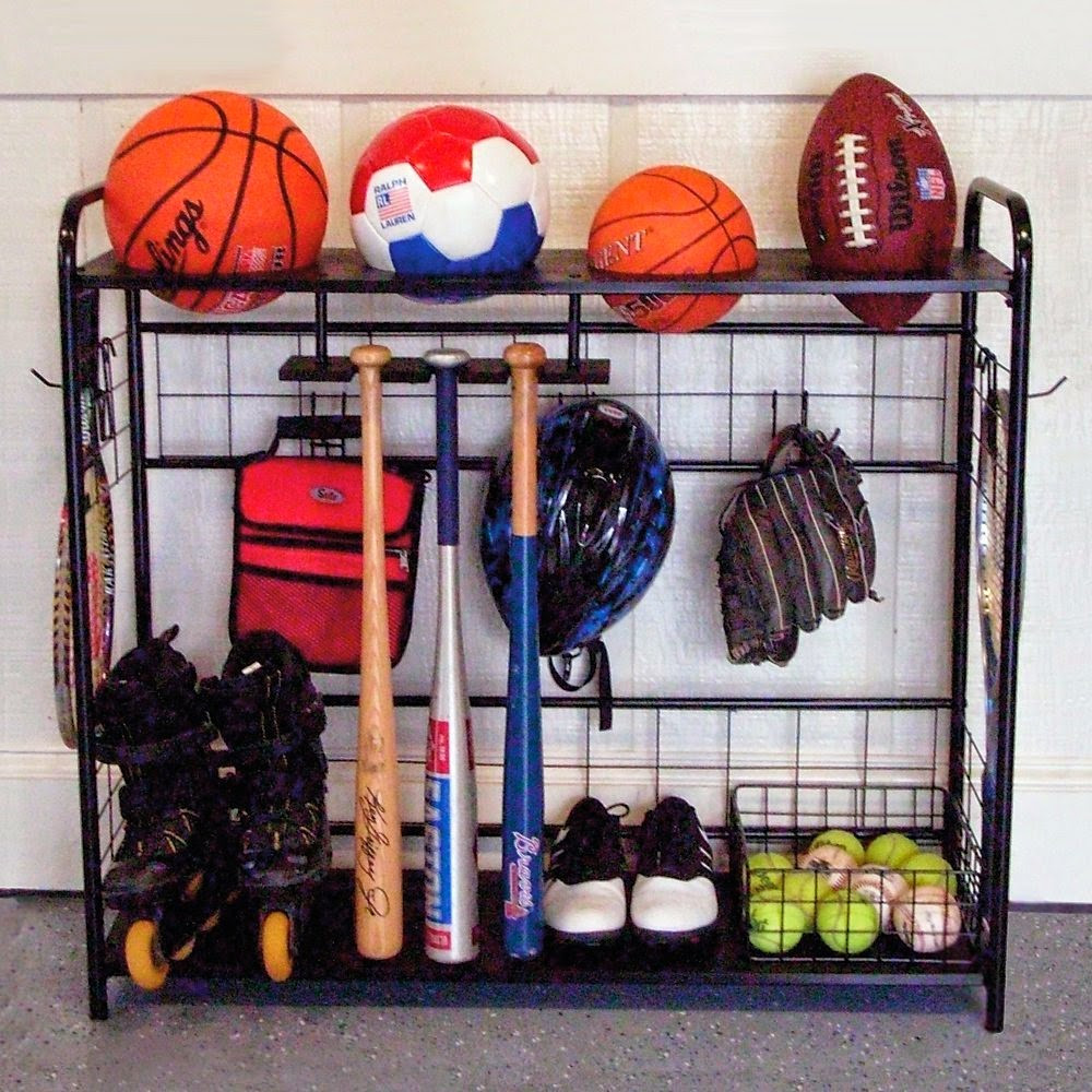 Sports Equipment Organizer For Garage  11 Organized Father s Day Gifts