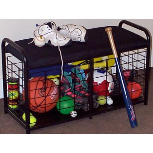 Sports Equipment Organizer For Garage  Sports Bench Organizer in Sports Equipment Organizers