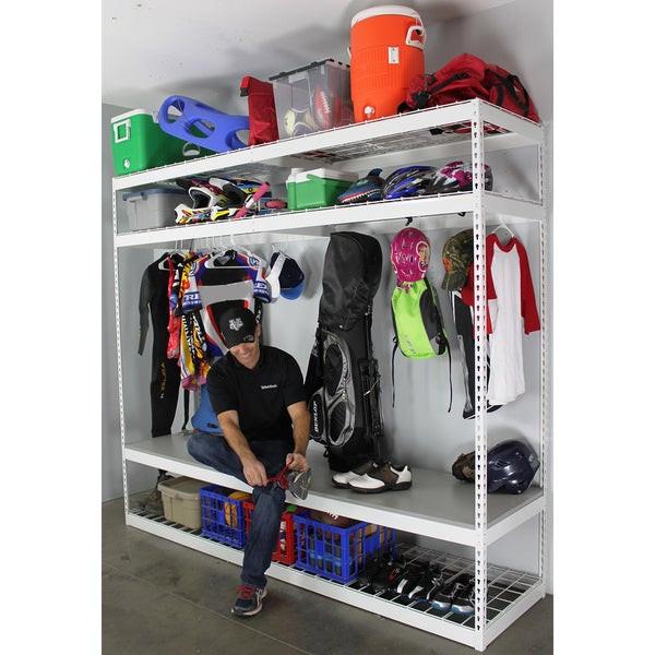 Sports Equipment Organizer For Garage  Shop SafeRacks Sports Equipment Organizer Free