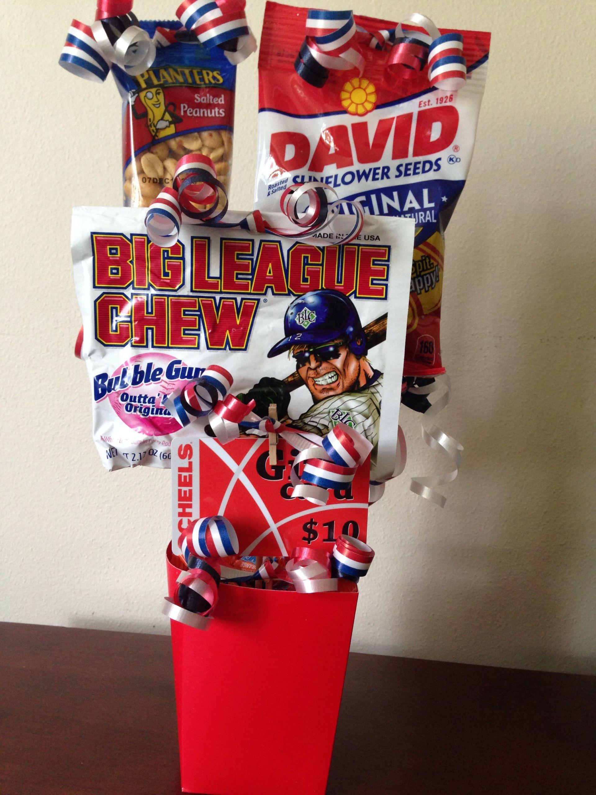 Sports Gift Ideas For Boys  Sports t basket 5th grade graduation Ty