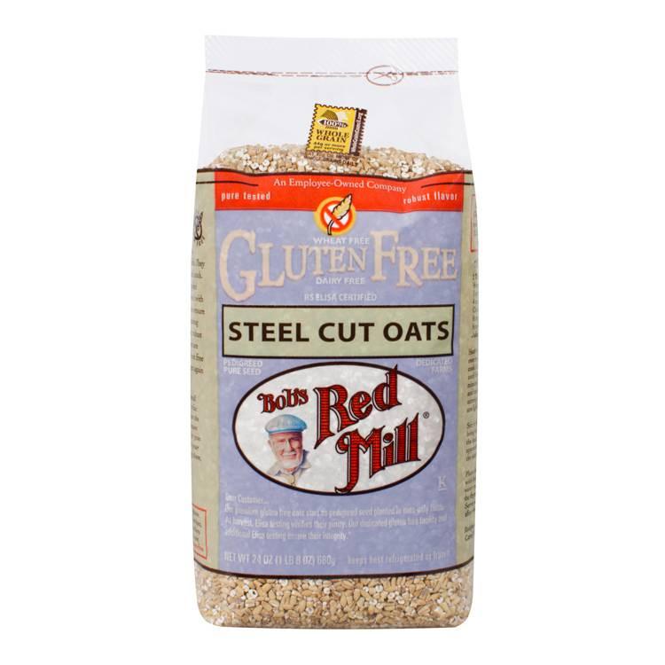 Steel Cut Oats Gluten  Bob s Red Mill Gluten Free Steel Cut Oats 24 oz 4 Pack