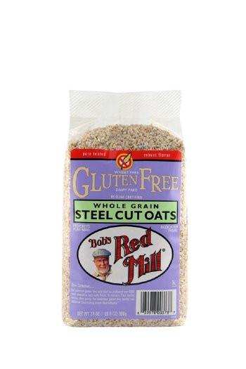 Steel Cut Oats Gluten  Bob s Red Mill Steel Cut Oats Gluten Free 24oz
