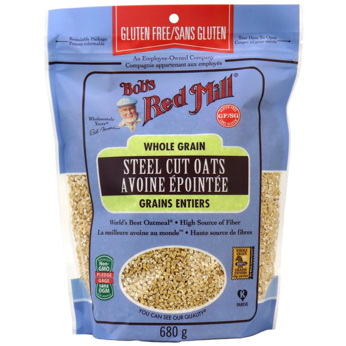 Steel Cut Oats Gluten  Bob s Red Mill Gluten Free Steel Cut Oats Canada