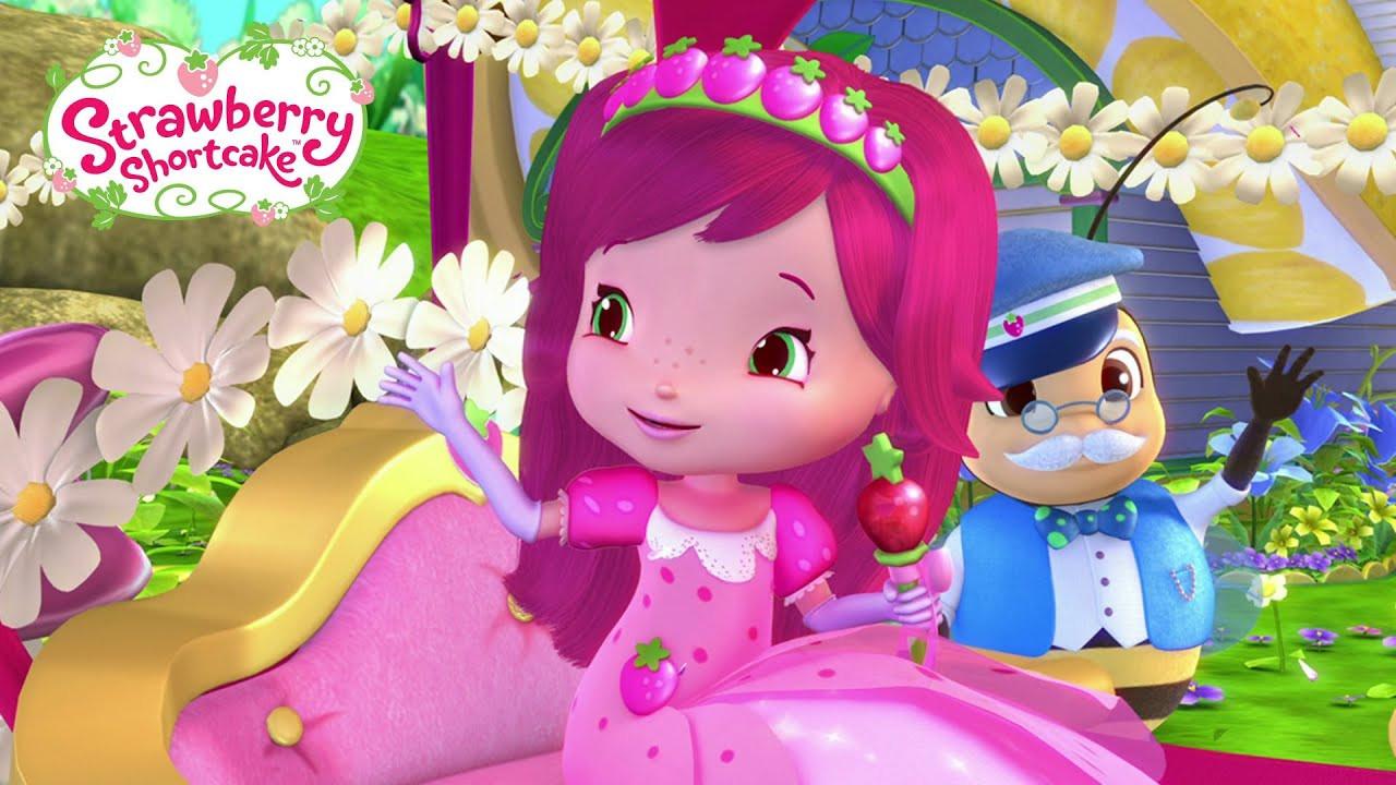 Strawberry Shortcake Youtube  Strawberry Shortcake Strawberry s Berry Big Parade