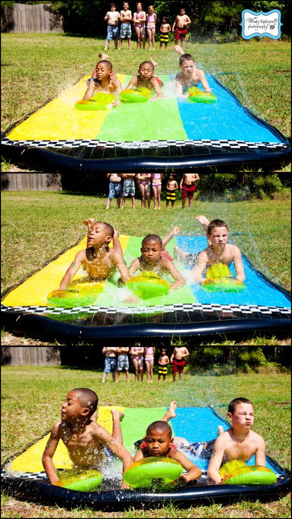 """Summer Water Party Ideas  Water Fight """"Wars"""" Birthday Party"""