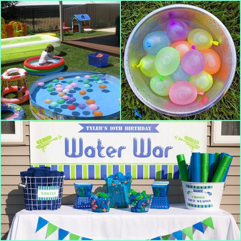 Summer Water Party Ideas  water party ideas