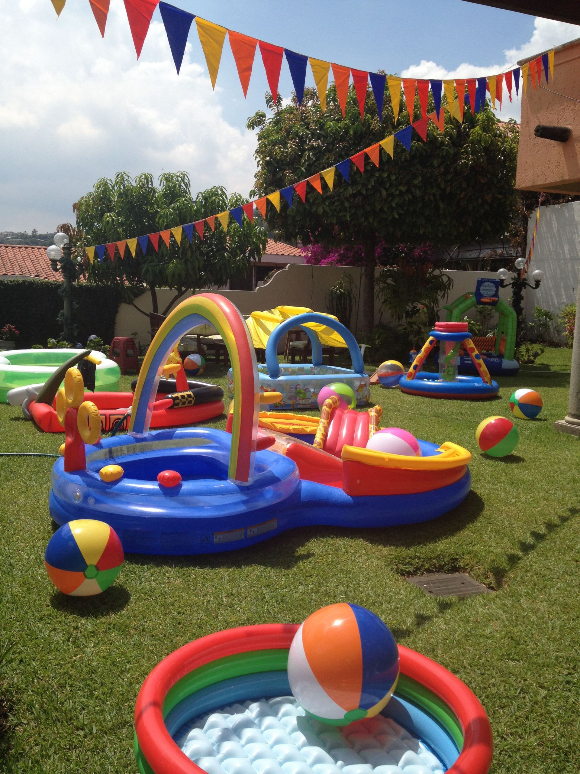 Summer Water Party Ideas  1st Birthday Pool Party