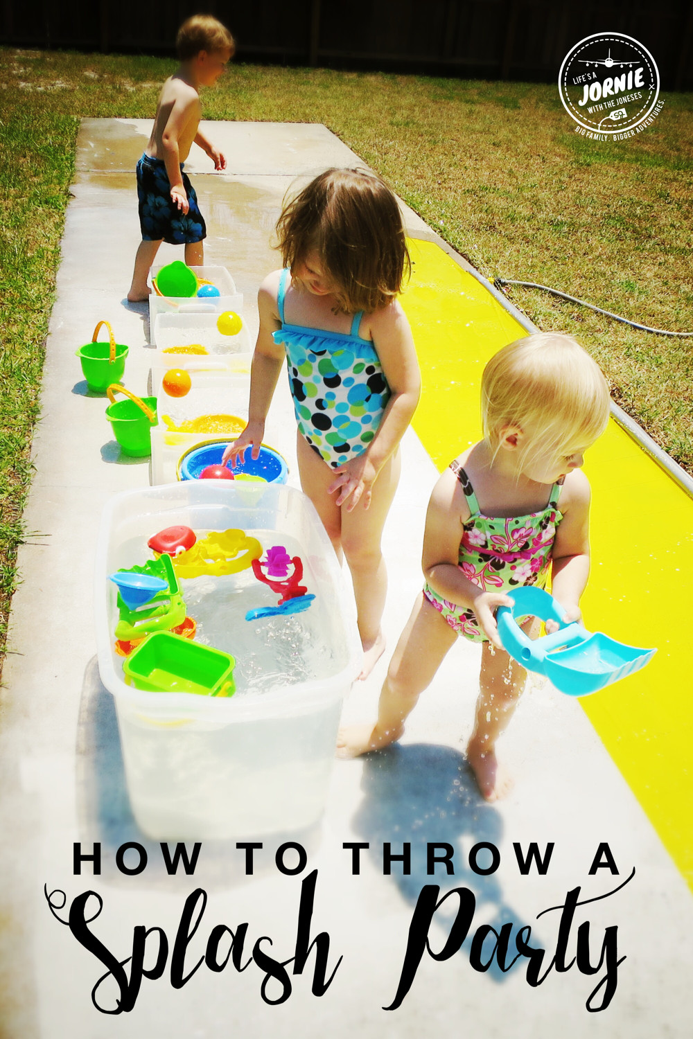 Summer Water Party Ideas  How to throw a splash party