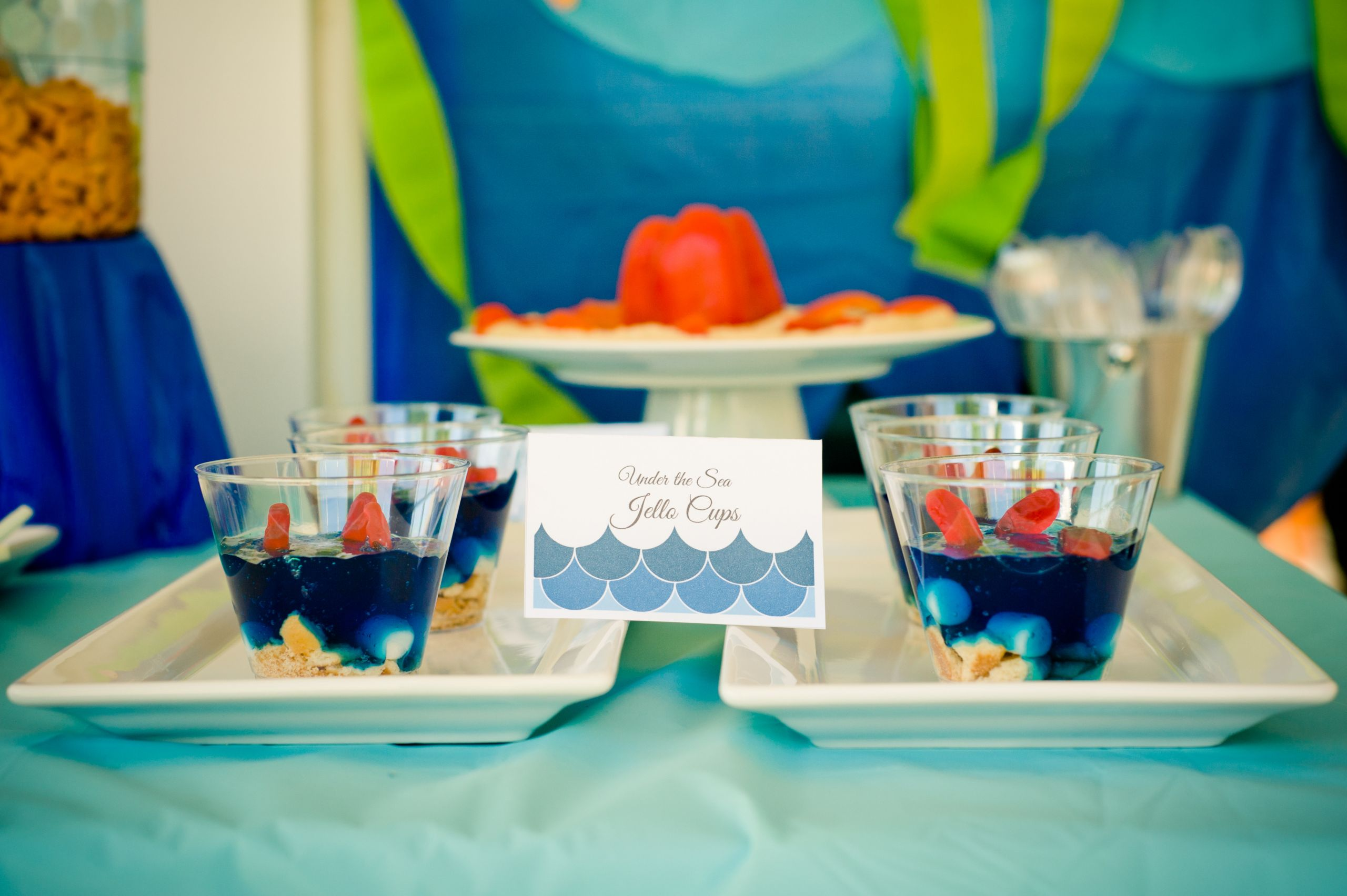 Summer Water Party Ideas  Under the Sea Water Party Smash Cake