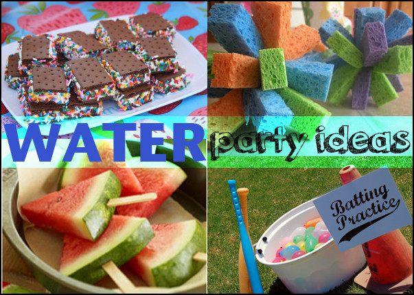 Summer Water Party Ideas  Paige s Party Ideas Water Party