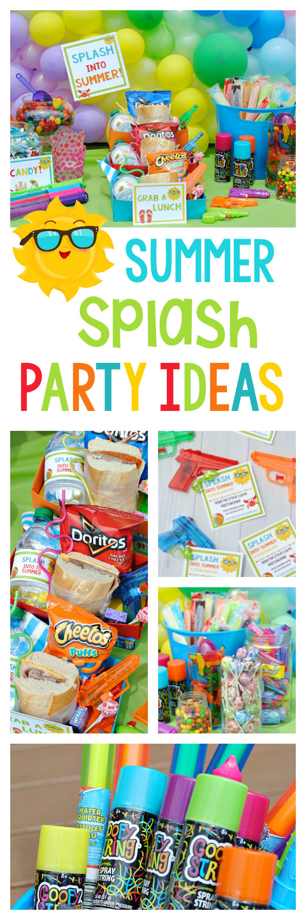 Summer Water Party Ideas  Splash Into Summer Party – Fun Squared