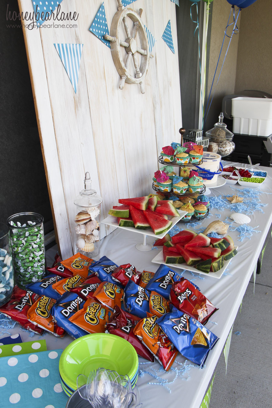 Summer Water Party Ideas  Water Themed Birthday Party Honeybear Lane