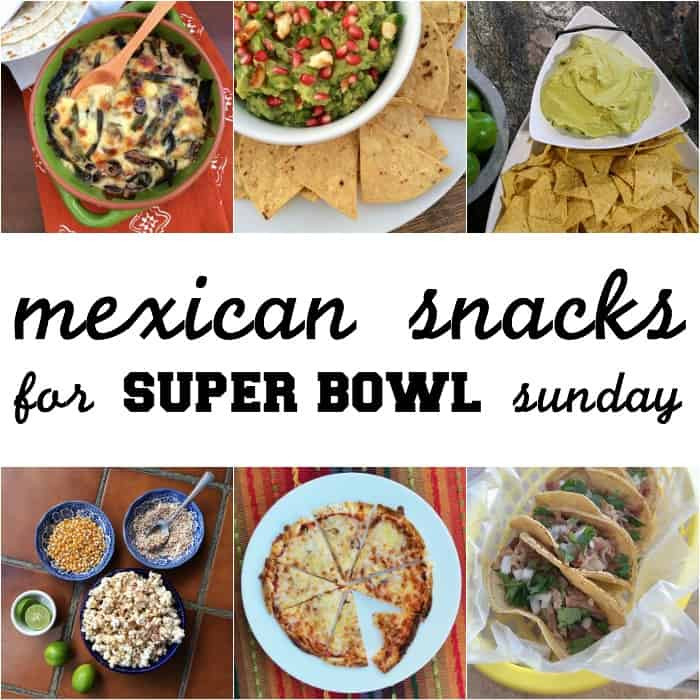 Super Bowl Mexican Recipes  Mexican snacks for Super Bowl Sunday The Other Side of