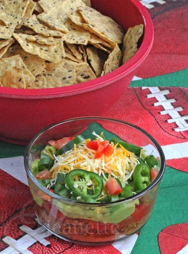 Super Bowl Mexican Recipes  9 Layer Mexican Super Bowl Dip Recipe