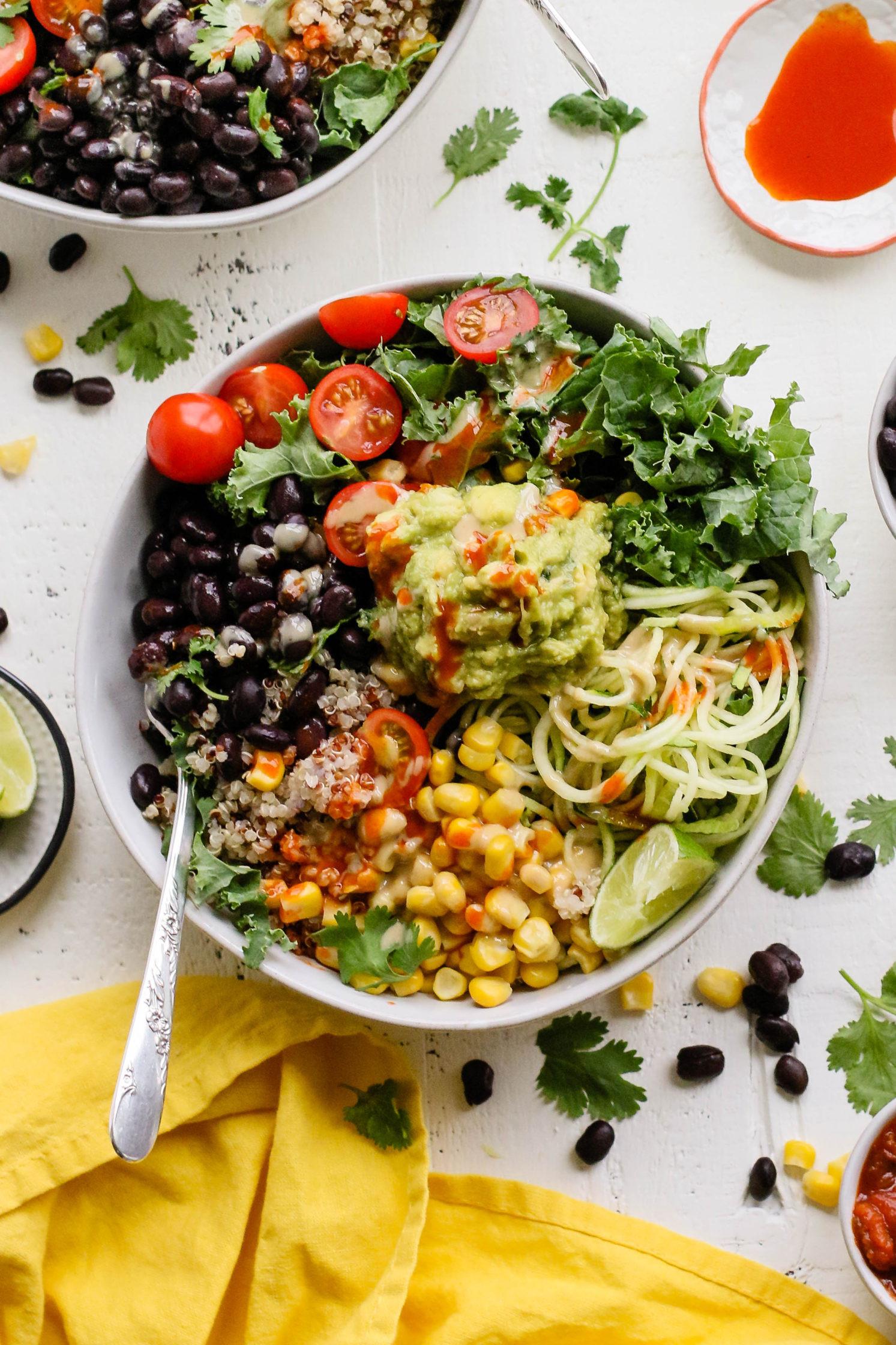 Super Bowl Mexican Recipes  Easy Mexican Macro Bowls Flora & Vino