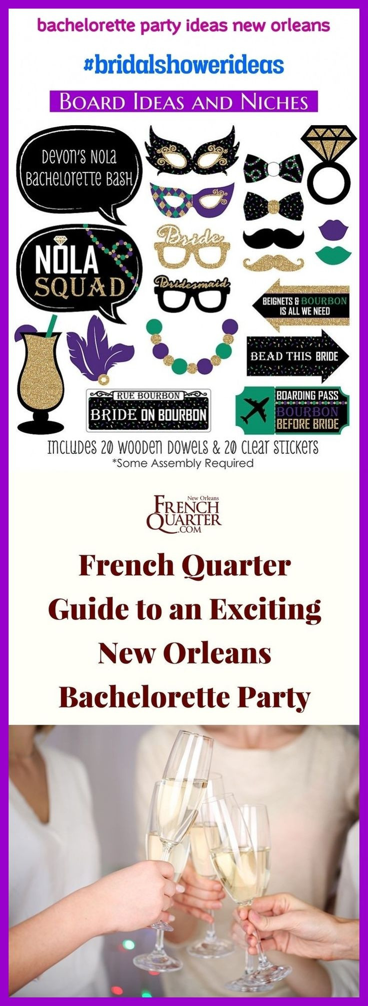 Tasteful Bachelorette Party Ideas  Bachelorette party ideas new orleans bridalshowerideas