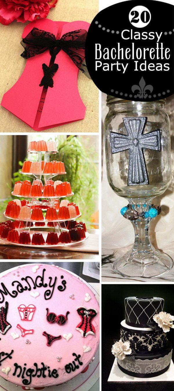 Tasteful Bachelorette Party Ideas  20 Classy Bachelorette Party Ideas