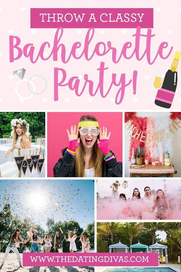 Tasteful Bachelorette Party Ideas  Classy Bachelorette Party Ideas in 2020 With images