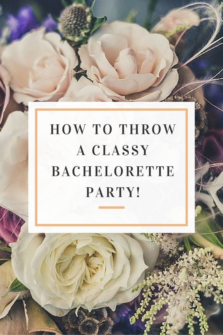 Tasteful Bachelorette Party Ideas  Pin by Fondudes on Classy Bachelorette Party Ideas