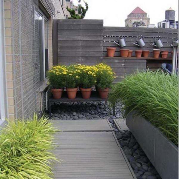 Terrace Landscape Plants  30 Unique Garden Design Ideas