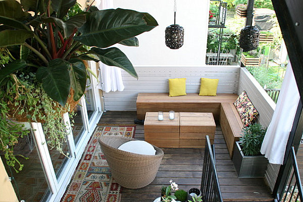 Terrace Landscape Plants  Balcony Gardens Prove No Space Is Too Small For Plants
