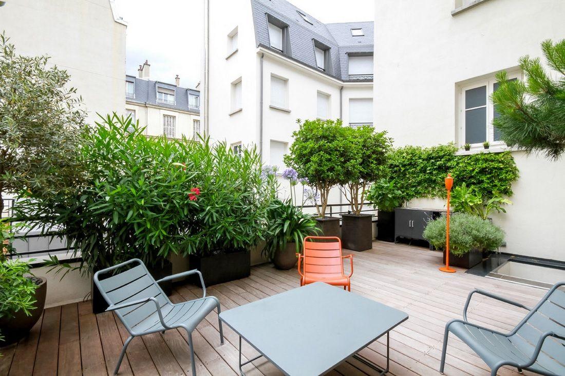 Terrace Landscape Plants  Plant Terrace Landscape Decoration Methods Small Design