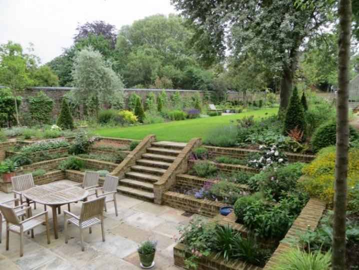Terrace Landscape Sloped Yard  Wonderful Terraced Gardens You Should See Today