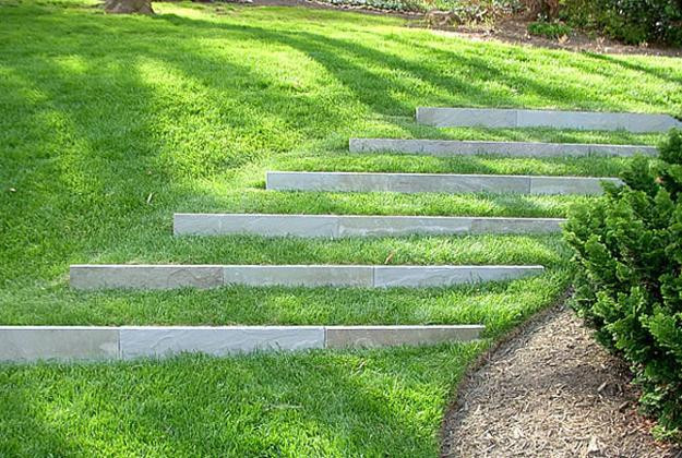 Terrace Landscape Sloped Yard  25 Beautiful Hill Landscaping Ideas and Terracing Inspirations