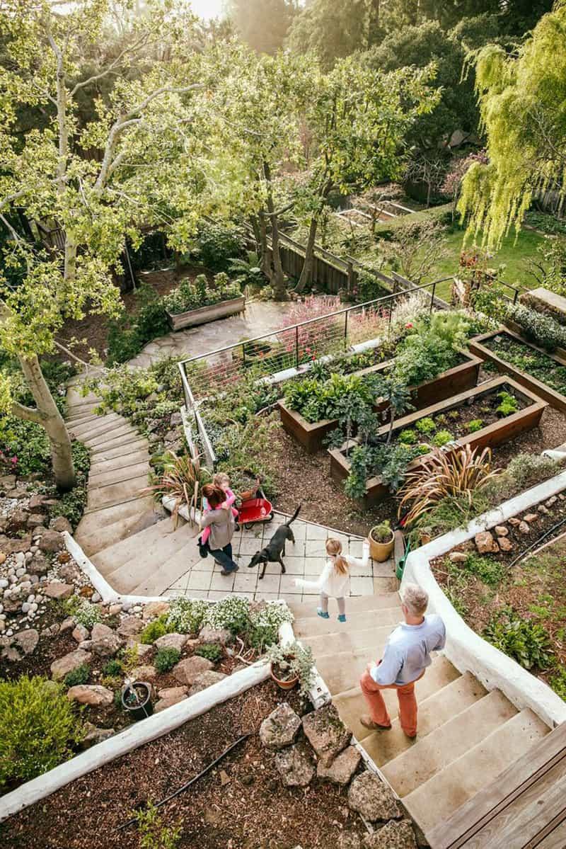 Terrace Landscape Sloped Yard  Amazing Ideas to Plan a Sloped Backyard That You Should