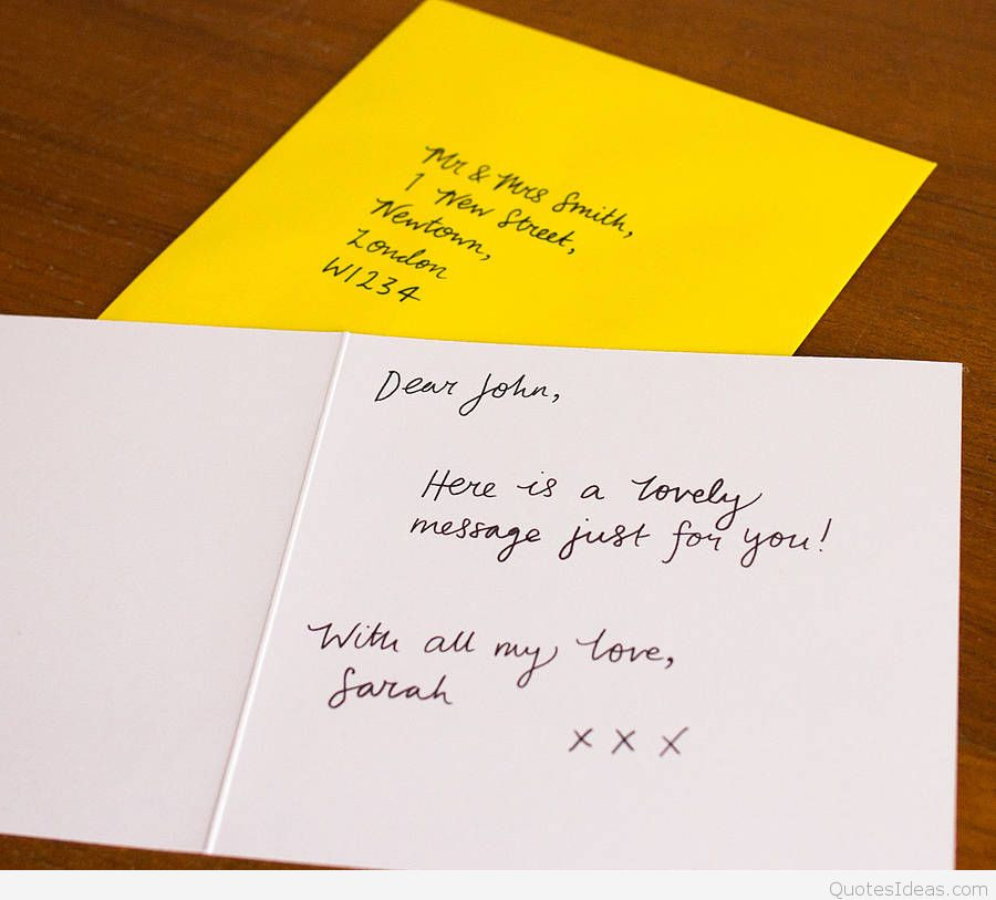 Text Message Birthday Cards  Happy birthday card with love message
