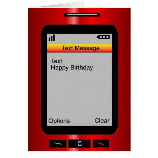Text Message Birthday Cards  Text Message Happy Birthday Cards