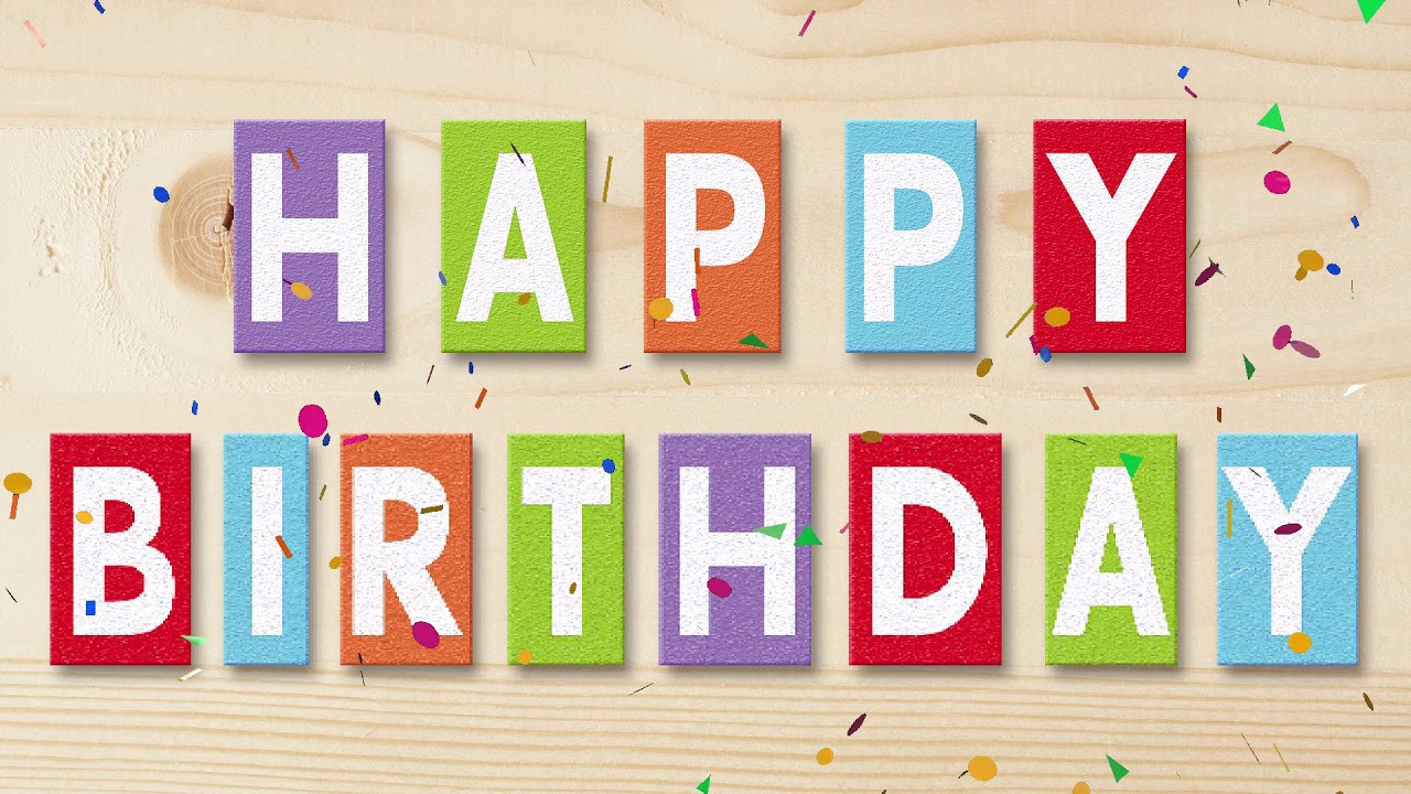 Text Message Birthday Cards  Happy Birthday Text Message Animated Greeting