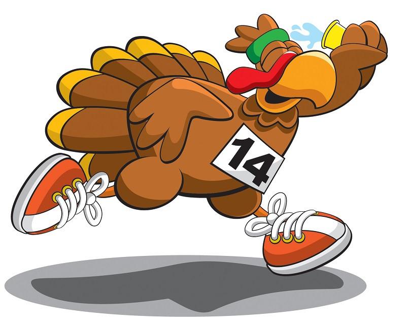 Thanksgiving Turkey Trot  Turkey Burn Fun Ways to Work off Thanksgiving Dinner