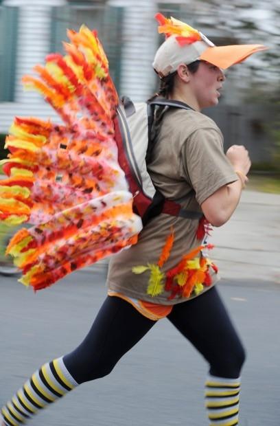 Thanksgiving Turkey Trot  Turkey Trot Costumes Peanut Butter Fingers