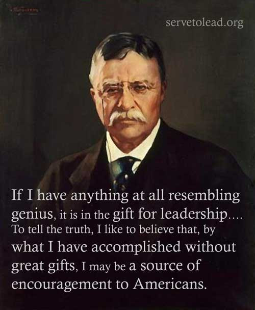 Theodore Roosevelt Quotes On Leadership  Theodore Roosevelt