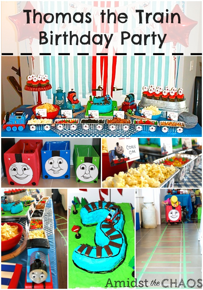 Thomas The Train Birthday Decorations  Thomas the Train Birthday Party Amidst the Chaos
