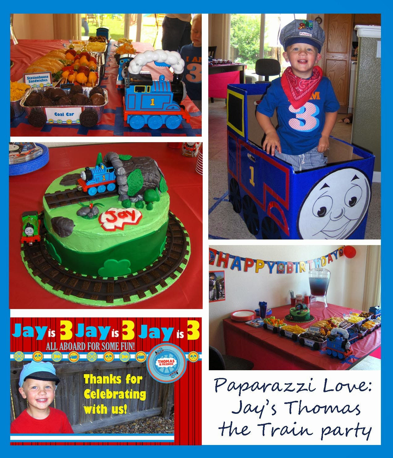 Thomas The Train Birthday Decorations  Paparazzi Love Jay s Thomas the Train Birthday Party