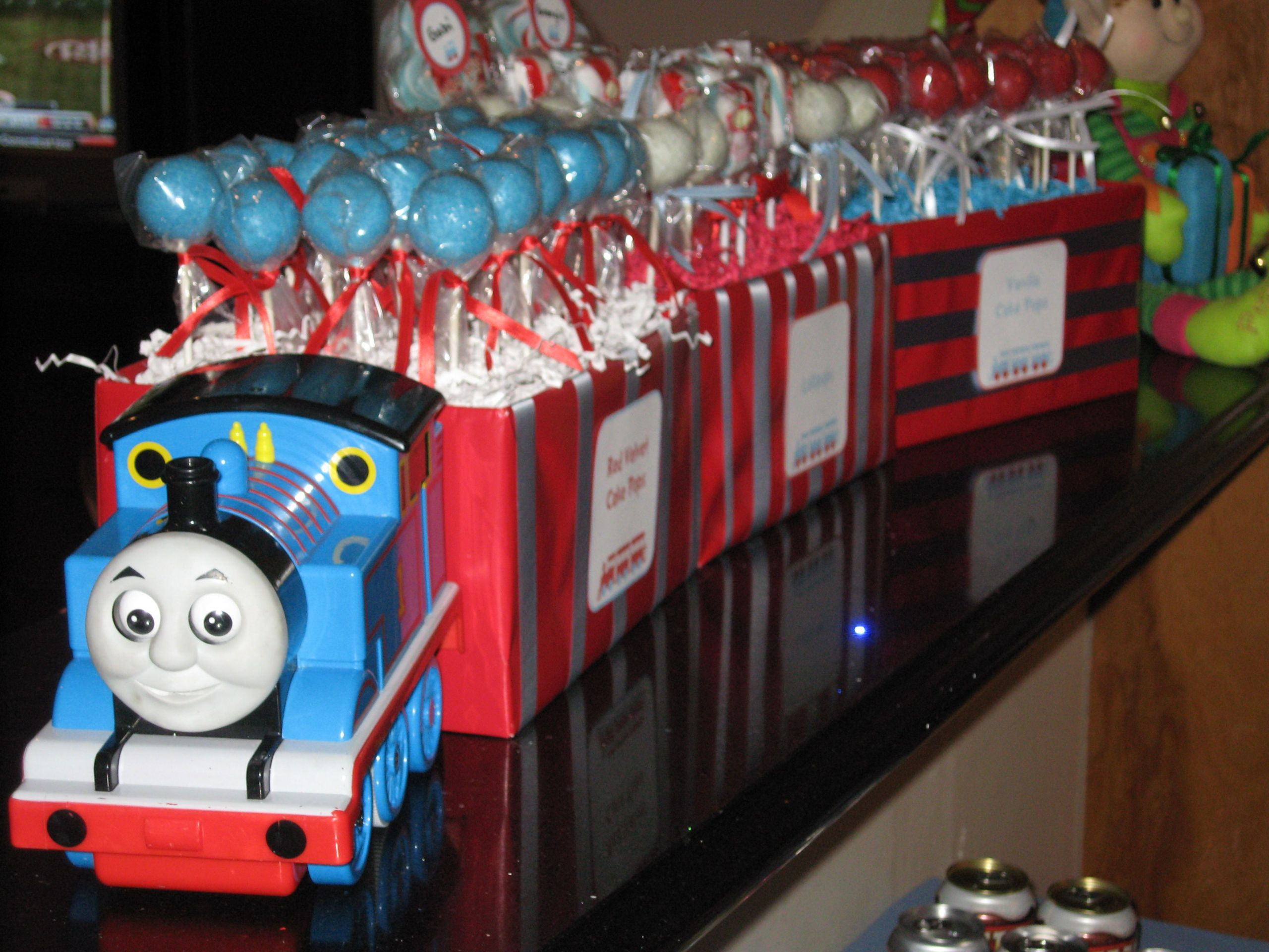 Thomas The Train Birthday Decorations  Kids Party Thomas the Tank trains on Pinterest