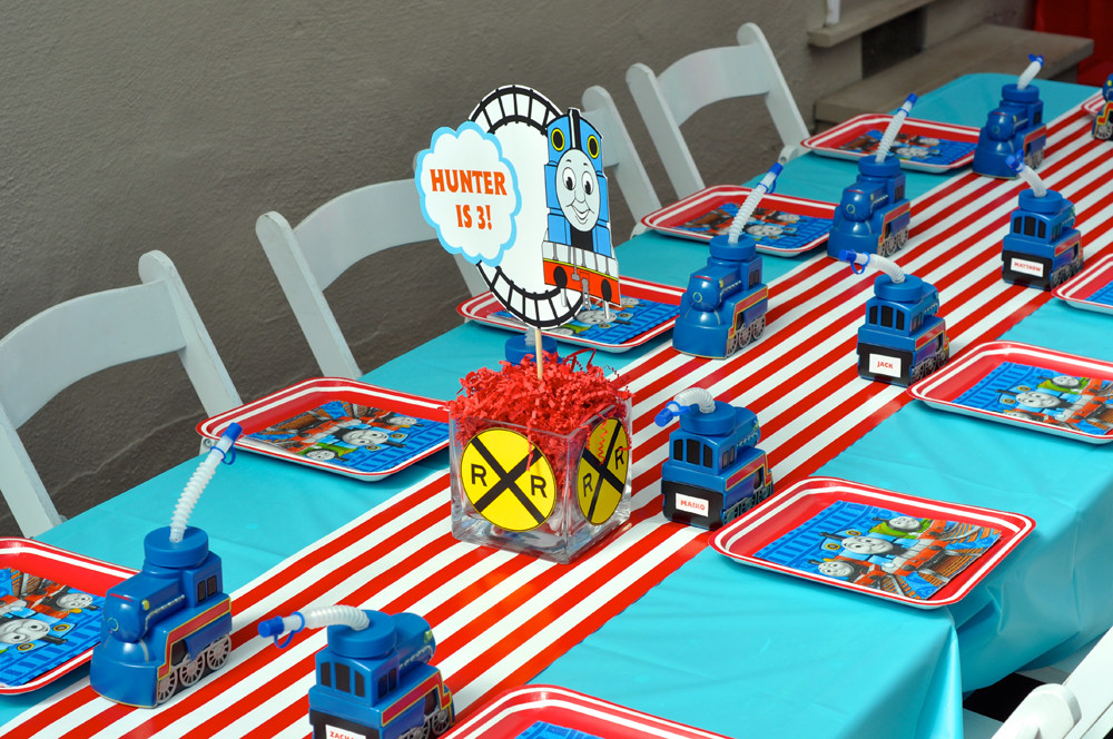 Thomas The Train Birthday Decorations  Thomas the Train Cherry Top Parties