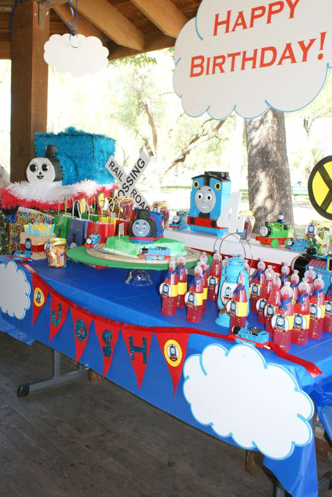 Thomas The Train Birthday Decorations  Thomas the Train Birthday Party Ideas