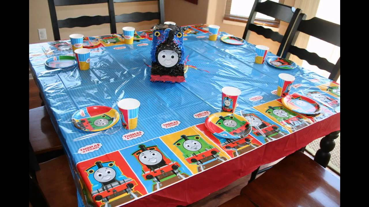 Thomas The Train Birthday Decorations  Cool Thomas the train birthday party ideas