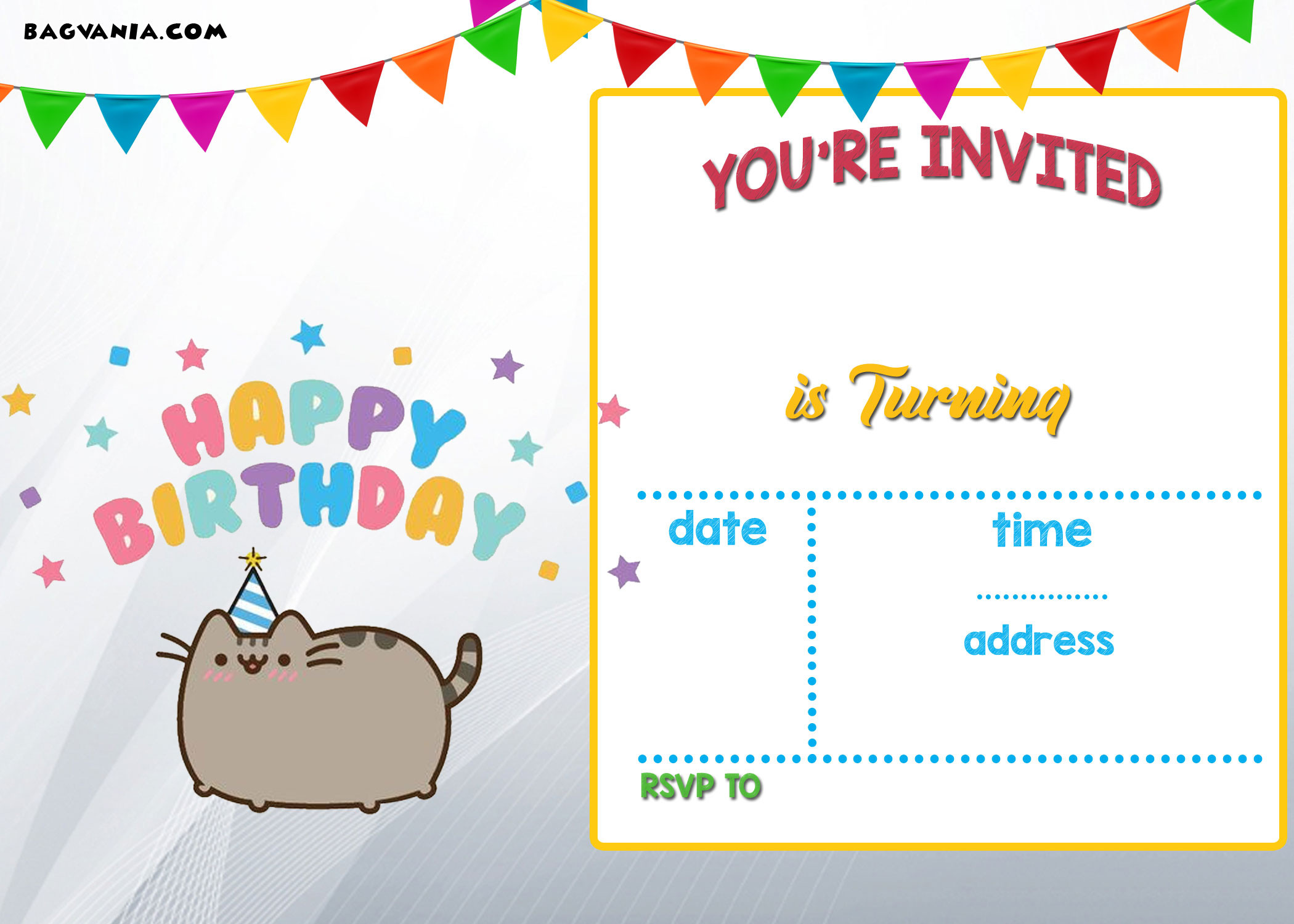 Toddler Birthday Invitations  Free Printable Kids Birthday Invitations – Bagvania FREE