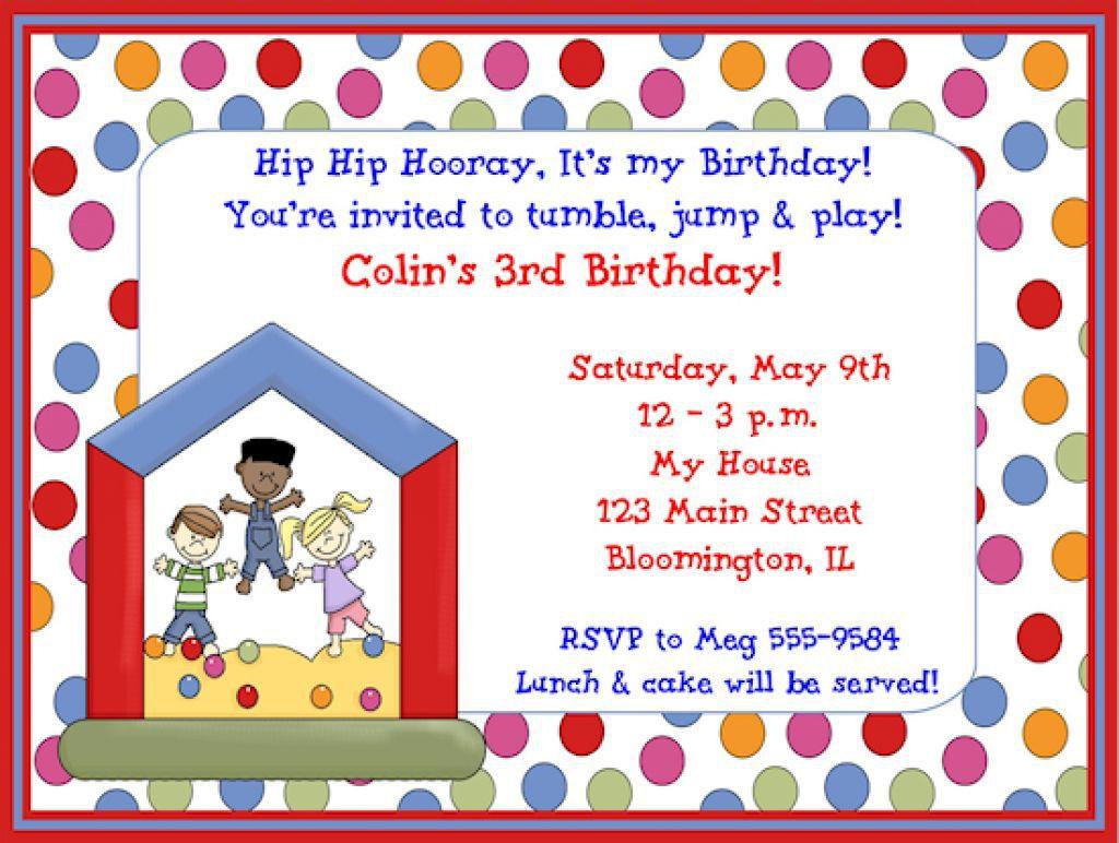 Toddler Birthday Invitations  FREE Kids Birthday Party Invitations – FREE Printable