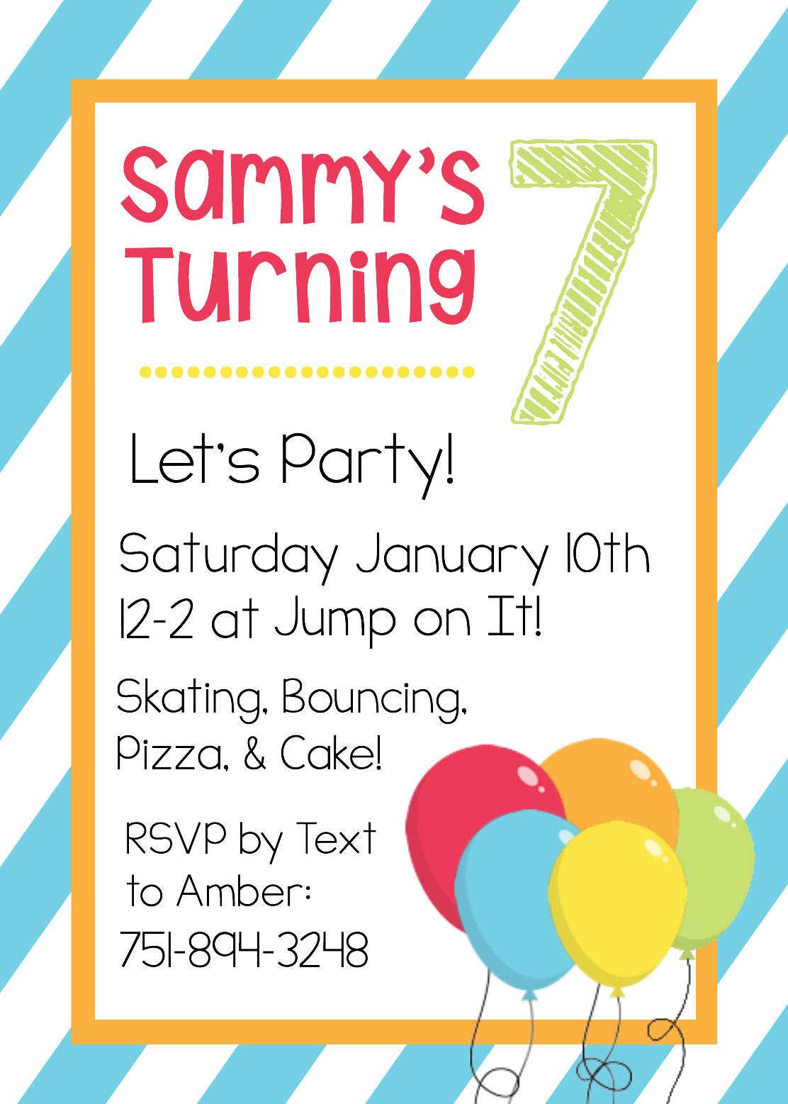 Toddler Birthday Invitations  Free Printable Birthday Invitation Templates